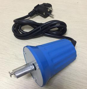 220 Volt EU Plug BBQ Grill Rotisserie Motor , Blue Bbq Grill Spit Met Motor FD801B - 2