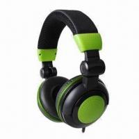 Best DJ Music Headphone with 20Hz to 20kHz Frequency Response, 20mW Rated Power and 40mm Driver Unit wholesale