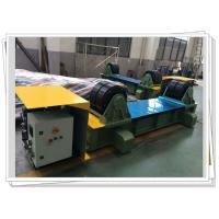 China SGS Wind Tower Production Line Manual Trolley Movable Hydraulic Fit Up Rotator on sale