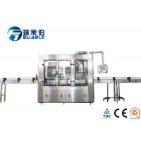 Best Automatic Carbonated Drink Glass Bottle Filling Machine Plant Stainless Steel 304 wholesale