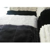 Best Natural Soft Fluffy Rex Rabbit Skin 12 X 15 Inches For Making Chair Covers wholesale