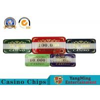 Best High - End 760PCS Casino Poker Chip Set With Aluminum Box Eco - Friendly wholesale