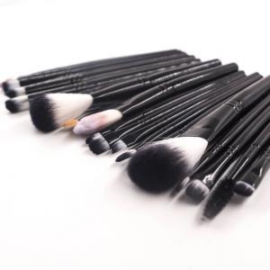 Best 10pcs Synthetic Makeup Brushes Set , MSDS Face Makeup Brush Kit wholesale