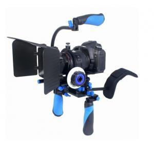 Cheap DSLR RIG Kit - Shoulder Mount RL-02 + Follow Focus + Matte box Kit For dv / hdv / dslr  for sale