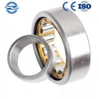 Best Low Friction NJ208 Cylindrical Roller Bearing / GCR15 Material Flanged Bearing wholesale