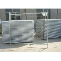 Best Galvanized Steel Pipe Builders Temporary Fencing For Construction Site wholesale