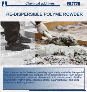 Redispersible polymer powder self leveling concrete