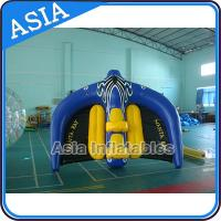 Quality 0.9mm PVC Tarpaulin Inflatable Flying Manta Ray / Fly Fish Inflatable Water Parks wholesale