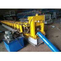 China Type 280 Ridge Cap Metal Roof Roll Forming Machine 18 Rows For Construction on sale