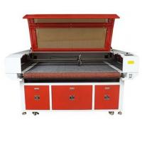 China CCD Camera Auto Feeding Laser Cutting Machine For Textile / Leather / Cloth on sale