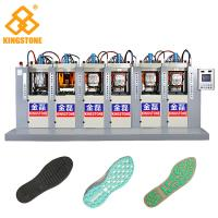 Best TPU TR PVC Shoe Sole Making Machine 6 Stations With P.I.D. Control System wholesale