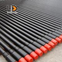 Best Round Shape Threaded Drill Rod 1525 - 6110mm For Rock / Mining Drill Machinery wholesale