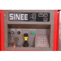 Best SINEE 55 kw Inverter Building Material Hoist with 400kg Lifting Device on Cage Top wholesale