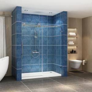 Best Stainless steel frameless sliding shower glass door shower enclosure wholesale