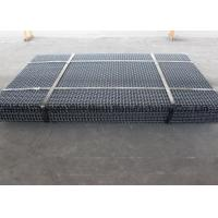 Cheap Vibrating Screen Wire Mesh Eavy Impact Resistance , High Carbon Steel 4mm Square Weave Wire Mesh for sale