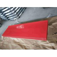 Best Red Corrugated Sheet Metal / High Hardness Corrugated Metal Roofing Sheets wholesale