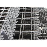 Best Vibrating Stone Crushers Metal Mesh Screen , Spring Steel Wire Mesh 65Mn 45Mn wholesale