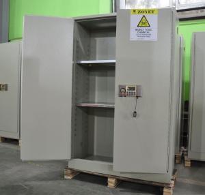 Best Grey Hazardous Storage Cabinets , Dangerous Goods Storage Cabinets For Chemicals wholesale