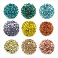 Best High Quality Shamballa Ball handmade Jewelry,Pave Crystal Beads 10-16mm wholesale