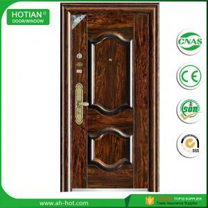 Best Main Gate Door Single Designs Entrance Steel Door Exterior Swing Door wholesale
