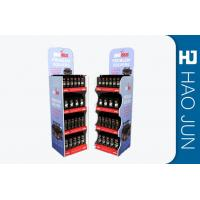 China Shop Stand Up Cardboard Display Units , Cardboard Merchandising Displays on sale