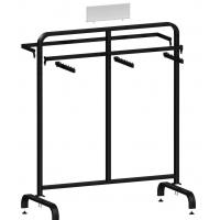 Cheap Metal / Wood  Customized Color Display Rack Stand Garment Showrooms  600*500*1000mm for sale