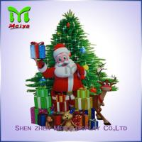 Best Father Christmas Style Paper Printing cardboard cutout standee wholesale