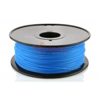 Best Cubify Reprap 3D Printer PLA Filament 1.75MM Blue , RoHs SGS wholesale