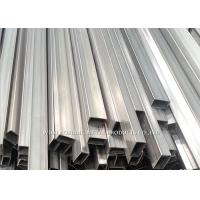 Industrial Stainless Steel Rectangular Tubing / Stainless Steel 316 Tube Mirror Finish
