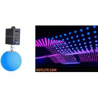 SMD RGB Color Mixing Kinetic LED Balls DMX Motorized Lifting Color Ball