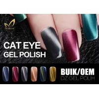 Best Smooth Natural Gel Nail Polish , Cat Eye Magnetic Nail Polish For Nail Salon wholesale
