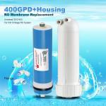 Best 400GPD Umkehrosmose Wasser Filter Ersatz + Gehäuse RO Membran Universal HOT wholesale