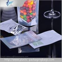 Best Custom Logo Waterproof Plastic Ziplock Bags / Moisture Proof Stand Up Pouch Packaging wholesale