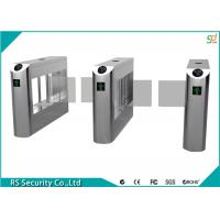 Best High Security Flexible Smart Supermarket Swing Barrier Gate School IR Sensor Turnstile wholesale