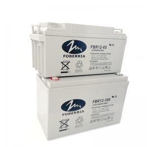 Best 12v 65ah 20HR 29.5kg 12V100Ah Lead Acid Gel Battery For Solar System wholesale