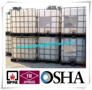Best 1000L Industrial IBC HDPE Tank , IBC Drum Tank With Galvanized Steel Framework wholesale