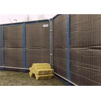 Best Portable Noise Barriers 40dB sound insulation for 8x12 Temporary Fencing Panels wholesale