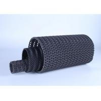 Best Geocomposite Drain Hard Water Permeable Pipe 3mm Thickness Black Color For Sewage Treatment wholesale