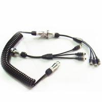 Best Curly 7 Pin Trailer Cable Spiral Power Cable For Camera Kits wholesale