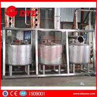 Best Steam Hearting Red Copper Commercial Distillation Equipment Distilling Vodka Alcohol Wine wholesale