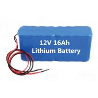 Best Mine lighting 12v16ah lithium battery pack, boutique mining machinery lithium-ion battery wholesale