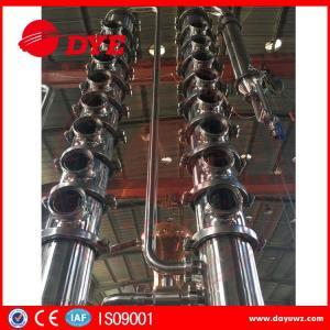 Cheap copper mini home laboratory alcohol distillation equipment apparatus for sale