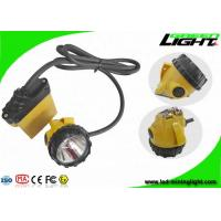 China IP68 Waterproof Rechargeable LED Headlamp 25000Lux Brightness 10.4Ah With SOS Function on sale