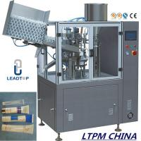 China Paste Automatic Tube Filling and Sealing Machine For Plastic Tube on sale
