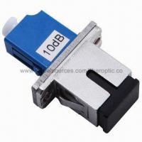 Cheap Fiber-optic attenuator with high power endurance, FC plug-in type and low back for sale