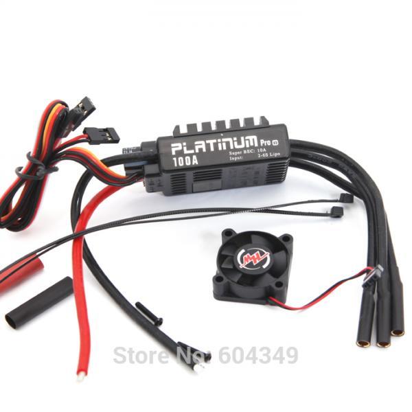 Details of HobbyWing Platinum 100A V3 Radio Control Parts ...