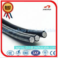 Best 2 * 25 Duplex Underground Aluminum Cable , 2 Aluminum Wire XLPE Insulated Cable wholesale