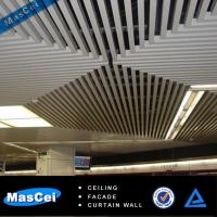 Cheap Aluminum Baffle Ceiling/Building Construction Materials for Shopping Malls for sale