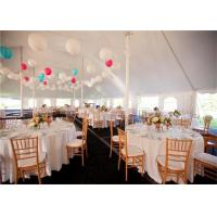 Cheap White PVC Canopy Wedding Event Tents 20x30m Aluminum Alloy Clear Span Marquee for sale