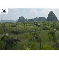 China Customized Waterproof Dinosaur Garden Ornaments With Infrared Ray Sensor / Speaker on sale